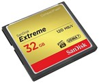 32GB-Extreme CompactFlash 800X 120MBps