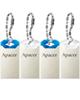 Apacer فلش مموری USB 2.0 مدل AH111 ظرفیت 16 گیگابایت بسته 4 عددی