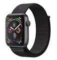 Watch 4-GPS -40mm-Space Gray Aluminum Case with Black Sport Loop