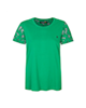 mel And moj تیشرت ورزشی زنانه کد W06353 - سبز - نخپنبه - آستین کوتاه
