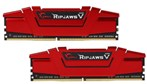 16GB -RipjawsV DDR4(8GB x 2) 2400MHz CL15 Dual Channel