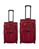 - مجموعه دو عددی چمدان کد SD66 - زرشکی - انعطاف پذیر- برزنت- پارچه