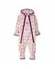 لباس نوزادی - سرهمی نوزادی لوپیلو کد Y14 - صورتی بنفش - طرح خالخالی