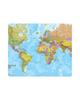 - ماوس پد طرح نقشه جهان مدل MP1275