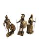 - مجسمه طرح سربازان رومی مجموعه 3 عددی