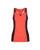 RNS تاپ ورزشی زنانه - نارنجی مشکی - ساده