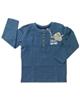 lupilu تی شرت نوزادی مدل MB057 - سرمه ای - آستین بلند
