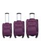 - مجموعه سه عددی چمدان مدل 1035 - بنفش