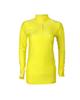 vk sport تی شرت آستین بلند ورزشی زنانه مدل 5001 - زرد ساده