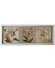 - تابلو مدل گل و پروانه کد S50