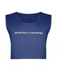 پانیل نیم تنه ورزشی زنانه کد 4053B - آبی نفتی