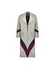 لباس زنانه پالتو زنانه آیلار مدل 107438170004-9067 - طوسی زرشکی