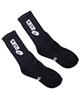 - جوراب ورزشی زنانه کد BL-Wd - مشکی سفید - نخ