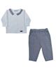 - ست پیراهن و شلوار نوزادی آلدیانا مدل 6014S-TO