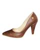 - کفش زنانه لیانا کد 702 - رنگ قهوه ای - مواد مصنوعی - پاشنه بلند