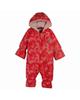 lupilu سرهمی نوزادی مدل 3916886 - قرمز - طرح دار - کلاه دار