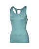 asics تاپ ورزشی زنانه مدل 134457-8148 - سبزآبی