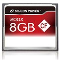 كارت حافظه / Memory Card SILICON POWER  8GB- Compact Flash CF 200x