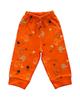 آدمک شلوار نوزادی مدل Friends - نارنجی - طرح دار