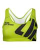 Trec Wear نیم تنه ورزشی زنانه مدل 03 - سبز روشن مشکی - پلی استر - بدون پد