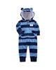 لباس نوزادی - سرهمی نوزادی پسرانه کارترز طرح سگ کدM332-آبی سرمه ای-طرح راه راه