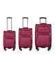 - مجموعه سه عددی چمدان مدل 5301 - زرشکی روشن