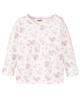 لباس نوزادی - پیراهن نوزادی دخترانه لوپیلو مدل pu00040 - سفید یاسی - طرح دار