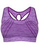 - نیم تنه ورزشی زنانه کد 3245-1 - بنفش - طرح دار
