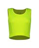 پانیل نیم تنه ورزشی زنانه کد 4061PH - سبزفسفری - ساده