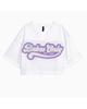 لباس زنانه نیم تنه ورزشی زنانه اچ اند ام کد 0546061001 -سفید بنفش - طرح دار
