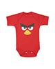 لباس نوزادی - بادی نوزادی کد 30 - قرمز - طرح انگری برد