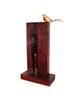 آرانیک آباژور چوبی قهوه ای طرح پرنده آوازخوان مدل 2217200009