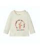 lupilu تی شرت نوزادی مدل Y004 - شیری - طرح خرگوش