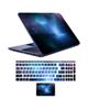 - استیکر لپ تاپ کد spa-ce 05  به همراه برچسب حروف فارسی کیبورد