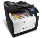دستگاههای چندكاره HP CM1415fnw- LaserJet Pro  Color Multifunction Printer