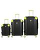 - مجموعه سه عددی چمدان آی تی مدل magnus 2354 - مشکی فسفری