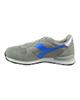 Diadora کفش مخصوص پیاده روی زنانه کد 5416 - طوسی آبی - چرم - پارچه مش