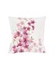 رنگار شاپ کاور کوسن مدل PWKH022 - سفید صورتی - طرح گل