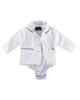Fiorella ست چهار تکه نوزاد پسرانه مدل fi-2924 - سفید