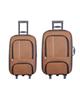 - مجموعه دو عددی چمدان پرواز مدل 10010 - قهوه ای روشن