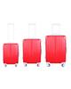 - مجموعه سه عددی چمدان مدل 100 - قرمز