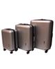 - مجموعه سه عددی چمدان اسپید کد 01 - رنگ بژ