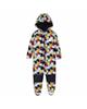 لباس نوزادی - سرهمی نوزادی لوپیلو کد Y100 - چندرنگ - طرح ستاره