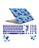 صالسو آرت استیکر لپ تاپ مدل 5028 hk با برچسب حروف فارسی کیبورد-طرح کاشی