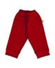 آدمک شلوار نوزادی کد 8926 - قرمز - نخ - طرح دار