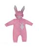 لباس نوزادی - سرهمی نوزادی کد S02 - صورتی - طرح خرگوش
