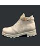 کفش سعیدی نیم بوت زنانه مدل Sa 4000 - کرم روشن