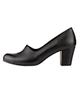Shifer کفش پاشنه دار زنانه چرم مدل 5283C - مشکی - طرح فلوتر