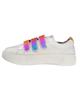 - کفش مخصوص پیاده روی زنانه کد Mhr-107 - سفید - چرم مصنوعی