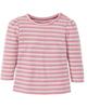 lupilu تی شرت آستین بلند نوزادی کد 1114 - صورتی - راه راه